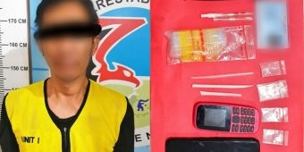 Nyambi Jadi Pengecer Sabu, Driver Ojol di Surabaya Dibekuk Polisi