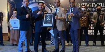 Kantor Pengacara P-P & Patners Dapat Penghargaan 'Platinum Lawyer Indonesia Award 2021'