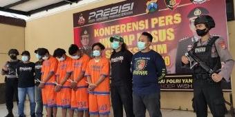 Pengeroyokan Balap Liar di Balongbendo, Polisi Amankan 4 Pelaku, 2 di Bawah Umur