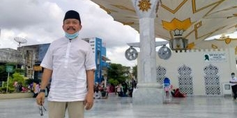Bernuansa Masjid Nabawi Madinah, Kiai Asep Betah di Masjid Raya Baiturrahman Aceh (2)