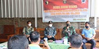 Pembangunan Rampung, Kodim Ngawi Serahkan Hasil Karya Bakti ke Pemkab