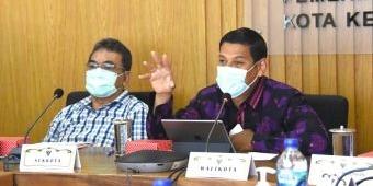 Wali Kota Kediri Paparkan Inovasi Emas Saat Penjurian Top 30 Kovablik Jatim 2021