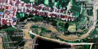 Penanggulan Kali Lamong Segera Dimulai, Penlok Lahan 4,5 Hektare Rampung