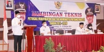 Wali Kota Gus Ipul Buka Bimtek Petugas Verifikator Daftar Nominatif Piutang PBB-P2 Tahun 2011-2019