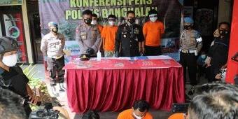 Hari Bhayangkara ke-75, Polres Bangkalan Berhasil Ungkap 8 Kasus Narkoba