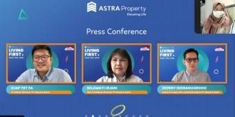 Living First 2021, Astra Property Ajak Audiens Berpikir Positif di Masa Pandemi Covid-19