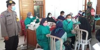 Percepat Herd Immunity, Kodim Ngawi Gelar Vaksinasi bagi Santriwati Pondok Modern Gontor