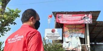Bantu Warga Isoman, PAC PDI Perjuangan Kecamatan Pagu Dirikan Posko Darurat Covid-19