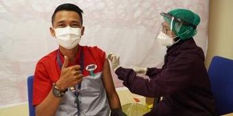JNE Surabaya Vaksinasi 1.206 Orang Selama 4 Hari