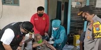 Kepala BIN Jatim Tinjau Vaksinasi di Kabupaten Kediri