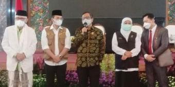 Silaturahim di Bangkalan, Mahfud MD: Membersihkan Covid-19 Itu Bagaikan Mengepel Lantai Kotor