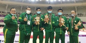Mas Abu Beri Ucapan Selamat Kepada Tiga Atlet Kota Kediri Peraih Medali di PON XX Papua