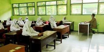 Disdik Kediri Mulai Gelar PTMT Hari Pertama Tingkat SMP