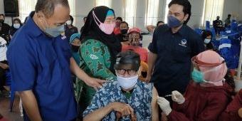 NasDem Tuntaskan Vaksinasi Dosis Kedua di Kabupaten Kediri