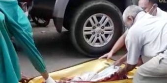 Asyik Memancing, Warga Tegalsari Banyuwangi Temukan Jasad Bayi Terapung Tersangkut Bambu