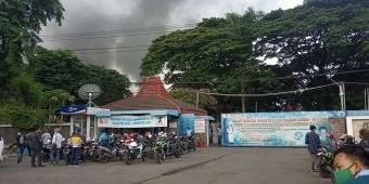 Gudang Limbah Pabrik Tekstil PT Mertex di Mojokerto Terbakar, Sejumlah Karyawan Luka-luka