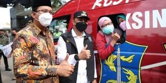 Sidoarjo dan Surabaya Kolaborasi Gelar Percepatan Vaksinasi Aglomerasi Surabaya Raya