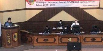 DPRD Jember Setujui Raperda RPJMD Tahun 2021-2026 dengan Sejumlah Catatan