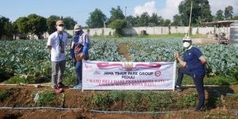 Prihatin Kondisi Petani, Laskar Foundation JTP Grup Beli Ratusan Kilo Buah dan Sayur