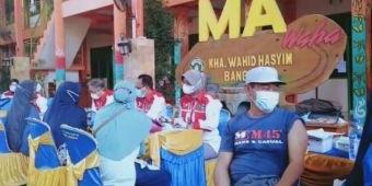 Pondok Pesantren KHA Wahid Hasyim Bangil Kembali Gelar Vaksinasi Massal