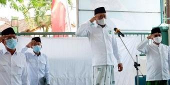 Gelar Upacara HSN 2021, Ketua PKB Bangkalan Harap Santri Jadi Ujung Tombak Pembangunan di Madura