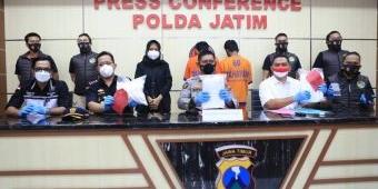 Ditresnarkoba Polda Jatim Gagalkan Penyelundupan 6 Kg Sabu dari Malaysia