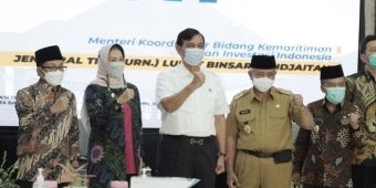 Kunjungi Kota Batu, Menteri Luhut Bahas Potensi Malang Raya