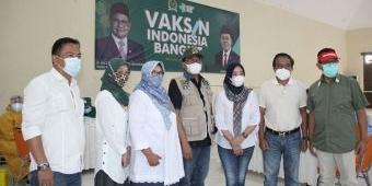 PKB, Partai Pertama Awali Vaksinasi Gratis bagi Warga Kota Batu