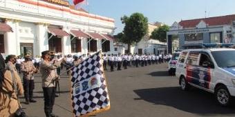 Lagi, Polrestabes Surabaya Salurkan Ribuan Bansos pada Masyarakat Terdampak Covid-19