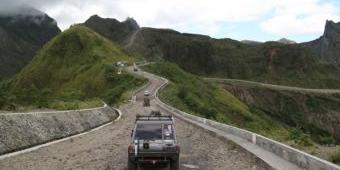 Gunung Kelud dan SLG Jadi Primadona Saat Libur Lebaran