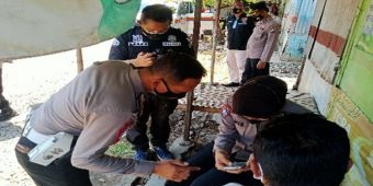Blusukan ke Pasar, Kasat Lantas Polres Probolinggo Kota Sosialisasikan Peduli Lindungi