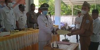Zainul Musthofa Resmi Dilantik Jadi Sekretaris Desa Dermolemahbang