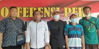 Buntut Pemblokiran Balai Desa, Kades dan Warga Talangkembar Jalani Pemeriksaan di Polres Tuban