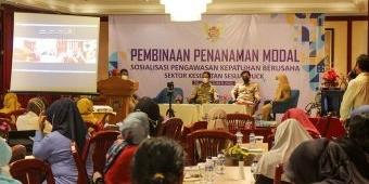 Tindaklanjuti UUCK, DPMPTSP Kota Kediri Berikan Sosialisasi Bagi Pengusaha Sektor Kesehatan