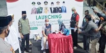 Bupati Baddrut Tamam Launching Masjid Tangguh Bencana Covid-19 Tepat di Hari Jumat