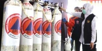 Gubernur Khofifah Resmikan Stasiun Pengisian Oksigen Gratis di Malang Raya