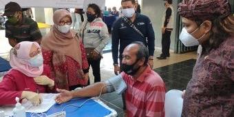 Nasdem Gelar Vaksinasi Massal di GOR Jayabaya Kota Kediri, Diikuti 1.000 Peserta