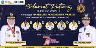 Pemprov Jatim Gelar ASN Achievement Awards 2021, 5 Kabupaten/Kota Masuk Nominator