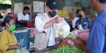Kunjungi Pasar Porong, BHS Minta Pemkab Sidoarjo Bantu UMKM Terdampak Covid-19