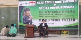 Gelar Ngaji Tafsir Kontemporer, Masjid Nurul Fattah Surabaya Hadirkan K.H. Dr. Musta'in Syafi'i