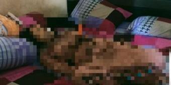 Wanita di Sidoarjo Ditemukan Tewas dengan Pisau Tertancap di Dada, Mulut Keluarkan Busa