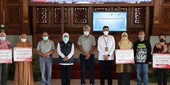 Gubernur Khofifah Launching Pembayaran Uji KIR Non Tunai Gunakan QRIS Bank Jatim