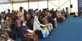Pemkot Surabaya Minta Vaksinasi Massal di Grand City Dievaluasi Ulang, Karena Timbulkan Kerumunan