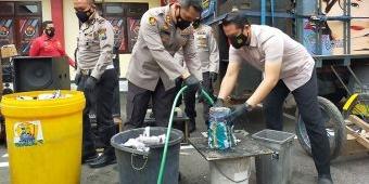 Selama Operasi Ketupat Semeru 2021, Polisi di Blitar Sita Ratusan Petasan dan Puluhan Sound System