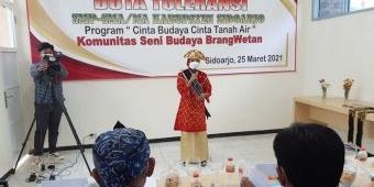 Ikuti Audisi, 20 Pelajar Sidoarjo Bersaing Jadi Duta Toleransi