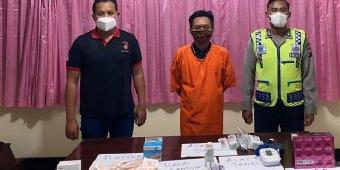 Praktik Suntik Pemutih Wajah Ilegal, Warga Duduksampeyan Gresik Ditangkap Polisi