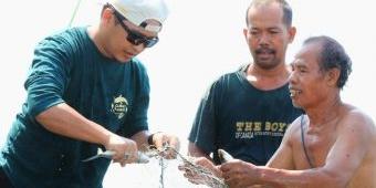 Panen Bandeng Jelak, Mas Adi: Warisan Kota Pasuruan Ini Harus Kita Lestarikan