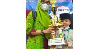 Siswa TK Lathifiyah 4 Lamongan Juara 1 MHQ Pentas PAI Provinsi Jatim 2021