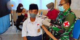 Sepekan, Kodim 0811 Tuban Tuntaskan 15 Ribu Dosis Vaksin Untuk Kalangan Pelajar
