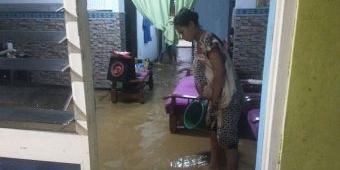 Hujan Lebat Sebabkan Banjir di Kawasan Kota Trenggalek
